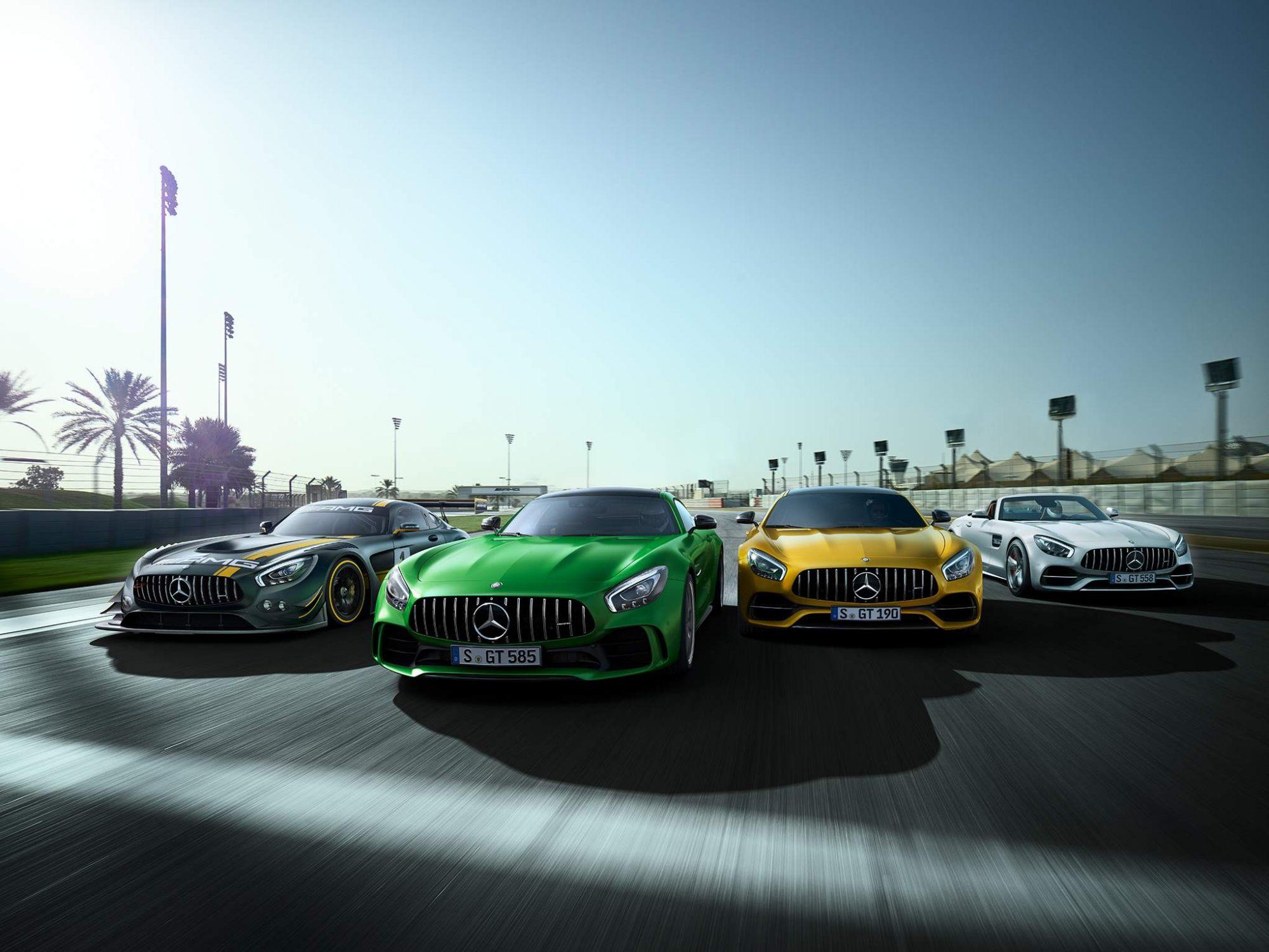 50 років Mercedes-AMG