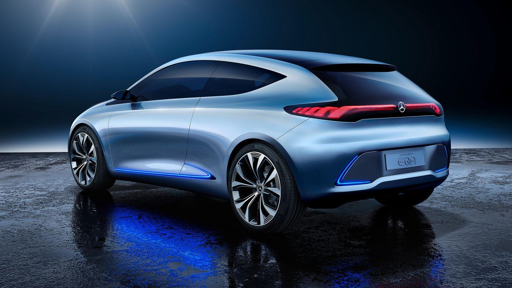 Світ Mercedes: Concept EQA