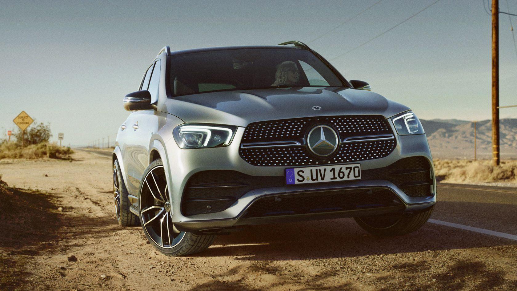 Тест-драйв Mercedes-Benz GLE