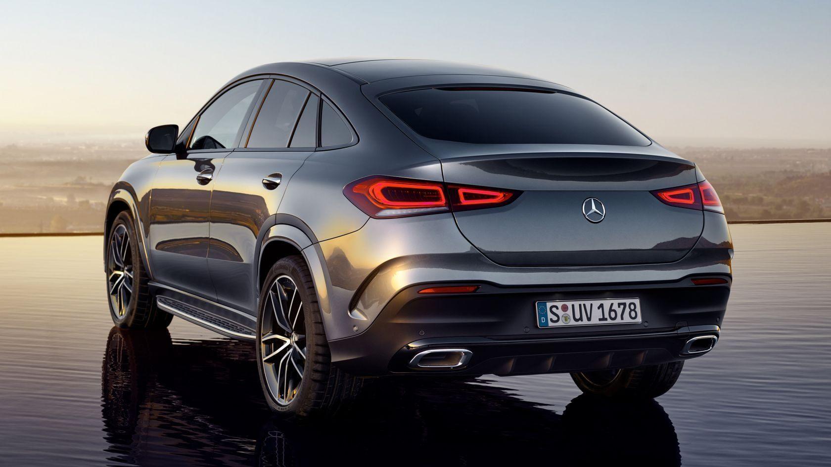 Тест-драйв Mercedes-Benz GLE купе