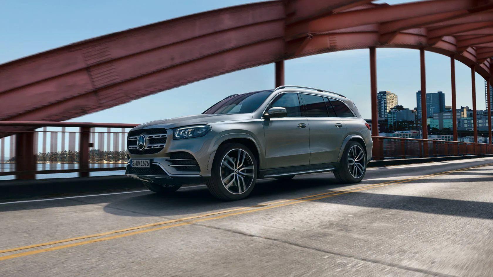 Тест-драйв Mercedes-Benz GLS